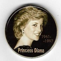 Cooknislands diana coin for collectors