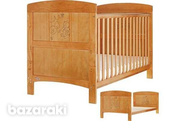 Winne the pooh cot bed-2