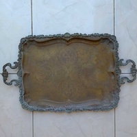 Tray antique from the year 1900.