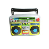 Inflatable stereo radio party prop toy
