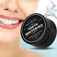 Teeth whitening bamboo charcoal powder 30g