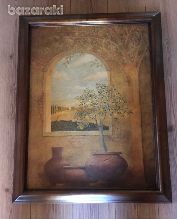 Wooden picture-2