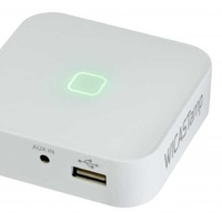 Amplifier wifi receiver 2x15w with usb/sd/aux player and app