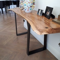 Olive wood console