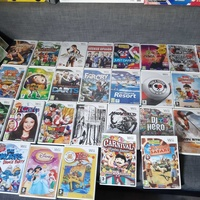 Nintendo wii big sellection of games