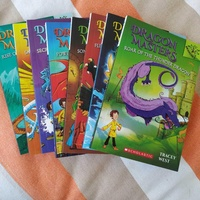 Dragon masters series children's books in english for 5-9 year olds