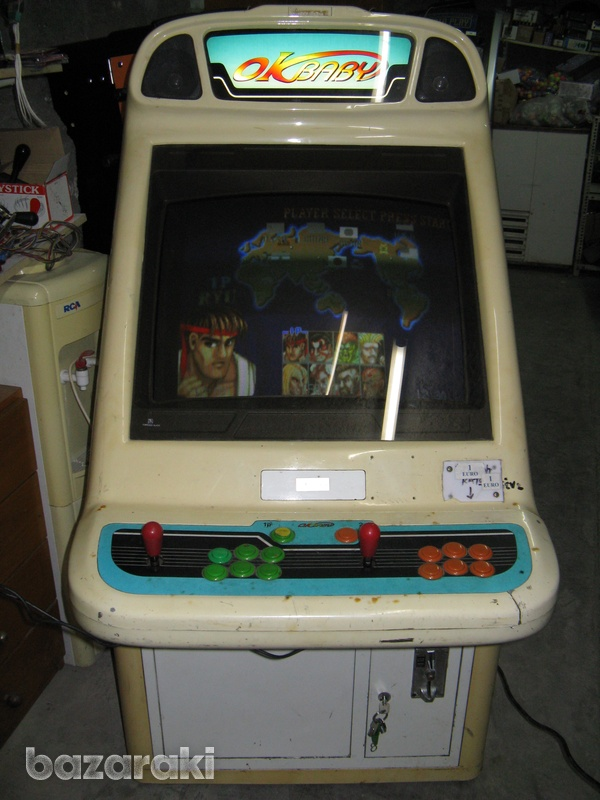 Arcade coin operated video game machine-1