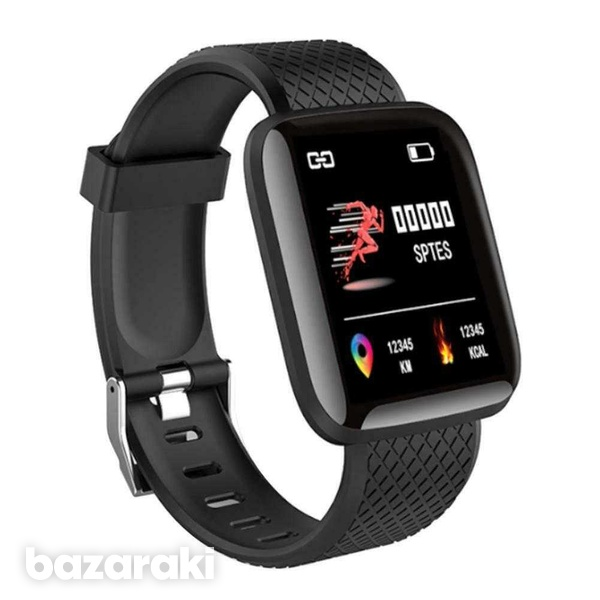 D13 smart watch men women for android ios phone heart rate blood press-3