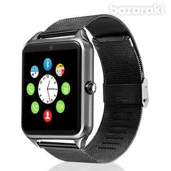 Smart watch stainless steel for android ios iphone-6