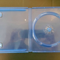 3 cases for blu ray, dvd or cd