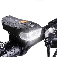 Xanes led 600lm bicycle light bike front headlight