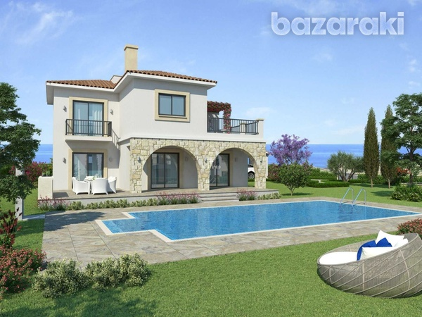 Three bedroom villa close to st george fishing harbour in peyia-1
