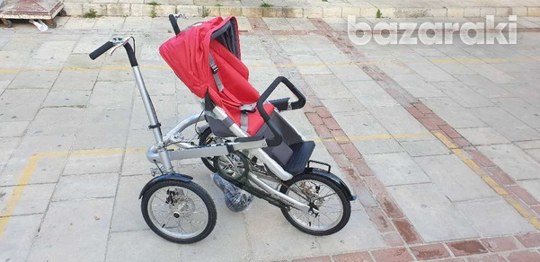 Bicycle and baby pram in one-5