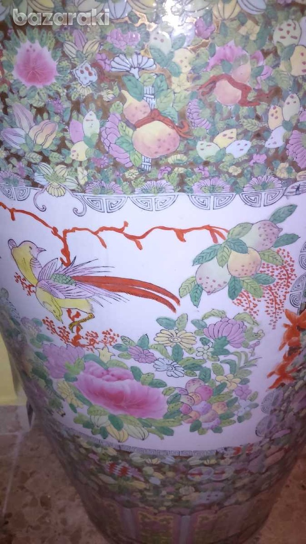 7 foot tall chinese vase, from 1920-5