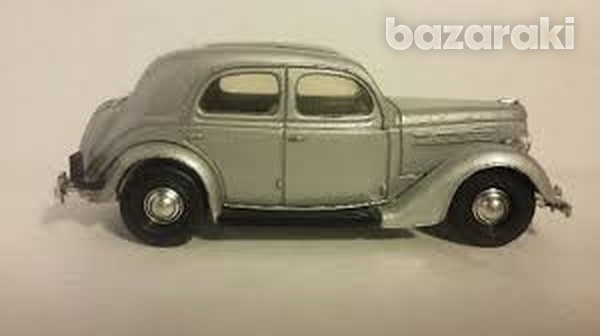 Collectors dinky dy5 b 1950 ford v8 pilot in silver scale 1 43-3