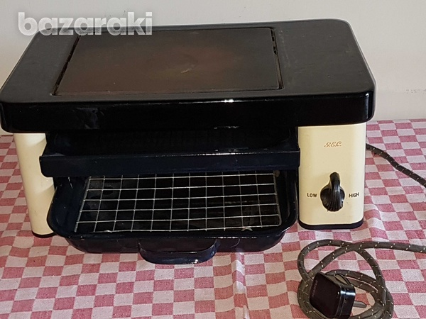 Vintage electric small oven-3
