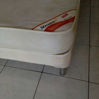 Bed and mattress stroma 200x110 cm excellent condition like brand new