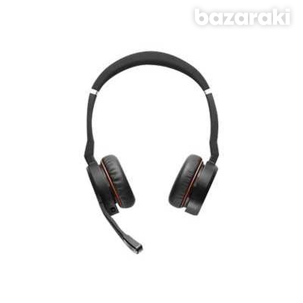 Jabra evolve 75 ms link 370 incl. headset charging stand - stock-4