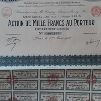 Share certificate of 1928