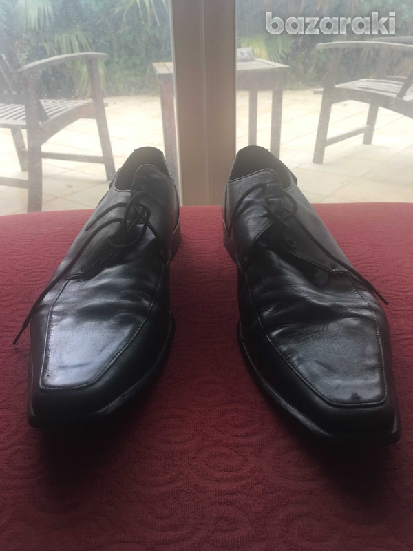 Calvin klein black luxury shoes in very good condition-1