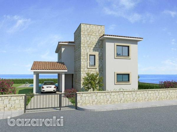 Three bedroom villa close to st george fishing harbour in peyia-8