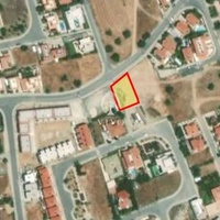 Residential plot of 609m2 in erimi