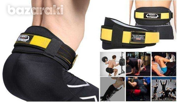 Fitness weight lifting gym belt