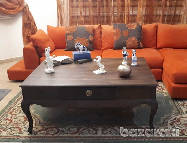Living room center table - τραπέζι καθιστικού-2