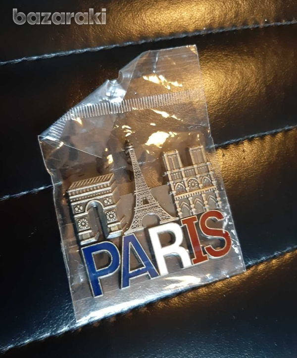 Paris fridge magnet-1