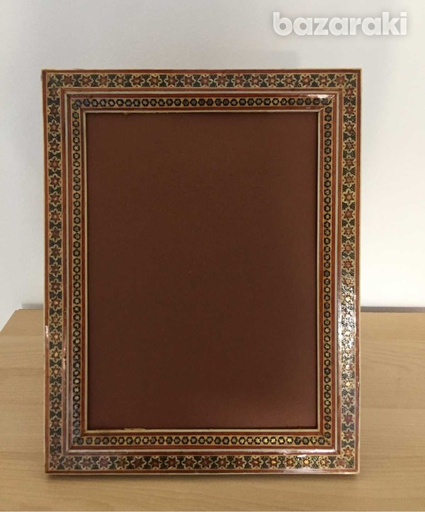 Handmade wooden picture frame-2