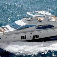 Luxury motor yacht princess 88 for private charters