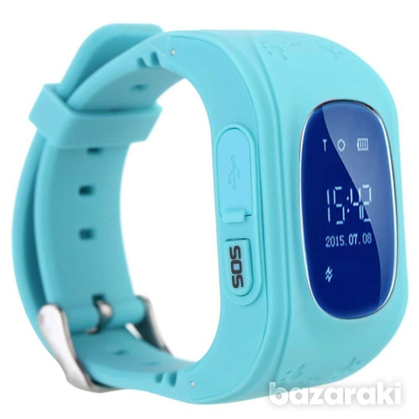 Q50 gps smart kids watch sos tracker anti lost monitor baby wristw-3