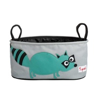 3 sprouts stroller organizer - racoon