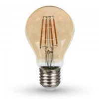New 4w a60 filament bulb-amber cover with samsung chip