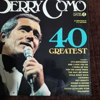 Perry como 40 greatest hits double lp