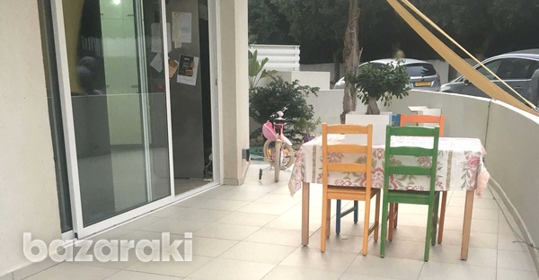 2 bedrooms ground floor flat in strovolos-4