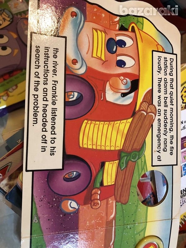 Frankie the fire engine book-2