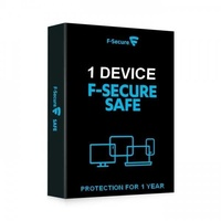 F-secure safe antivirus internet security 1 year 1 device