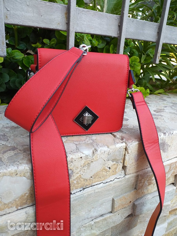 New red clutch bag-2