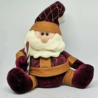 Decorative santa claus plush