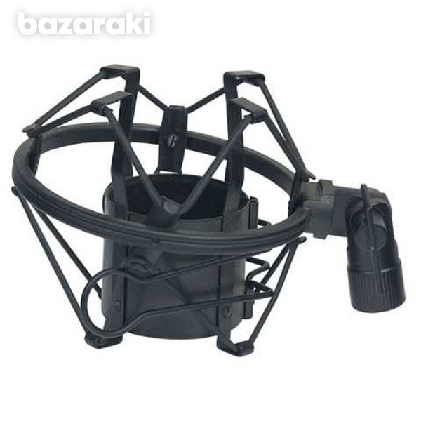 Microphone holder anti-shock proof