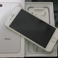 Apple iphone 8 64gb silver with box and accessories