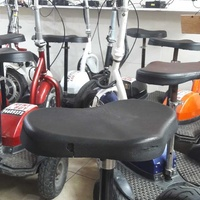 We repairing electric scooters