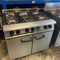 Fagor 6 burner cooker with oven
