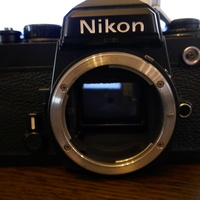 Slr nikon fe camera - collector's/enthusiast's item