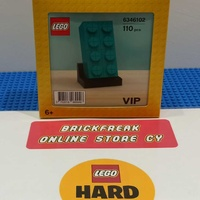 Lego 6346102 lego stone turquoise exclusively for vip