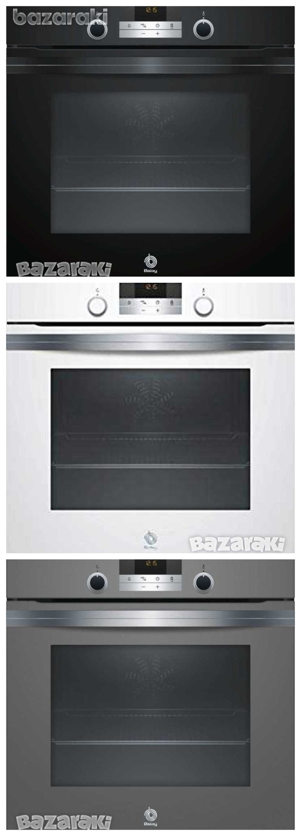 Balay 3hb5358a0 multifunction aqualysis oven 60cm 71ltrs in 3 colors-1