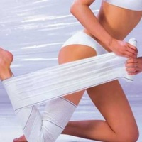 Anti-cellulite wraps for loosing weight