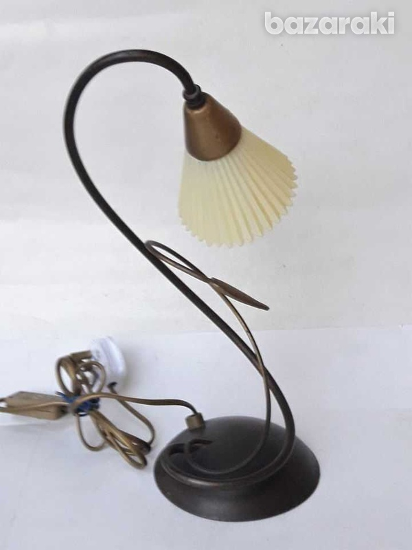 1960s vintage art deco beautiful table / office lamp, working. for dec-4