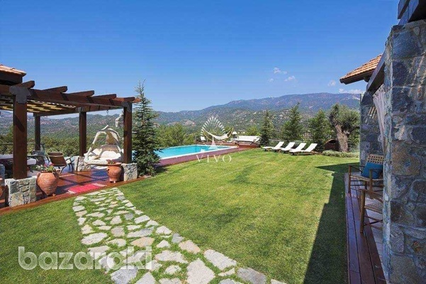 Under construction breathtaking mountain villa with panoramic views-3